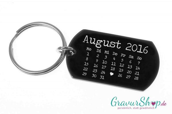 Schlüsselanhänger 16 * Kalender Style A