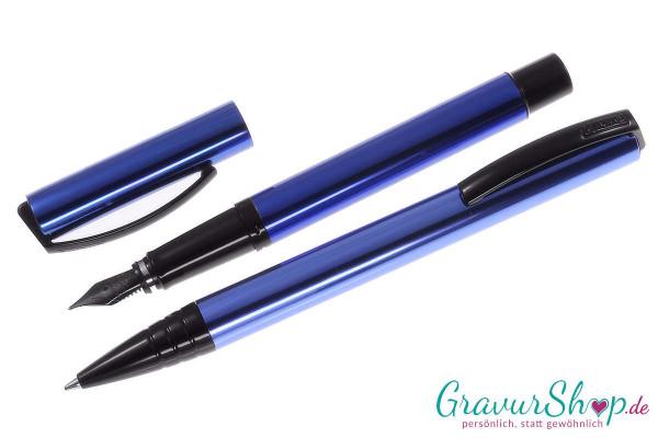 Online Vision Schreibset magic blue mit Gravur