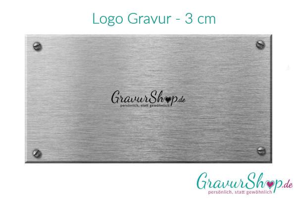 Logo Gravur - 3 cm