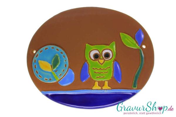 Keramikschild 26 mit Gravur