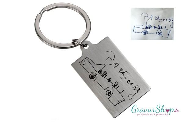 Schlüsselanhänger 56 mit eigener Handschrift / Zeichnung