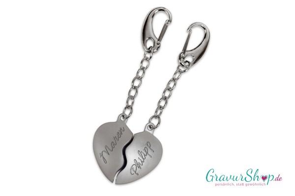 Schlüsselanhänger Nr. 01 mit Gravur