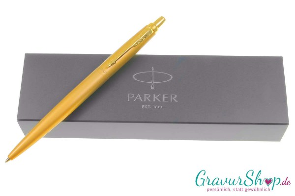 PARKER Jotter XL gold mit Gravur