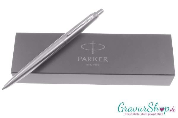 PARKER Jotter XL silber mit Gravur