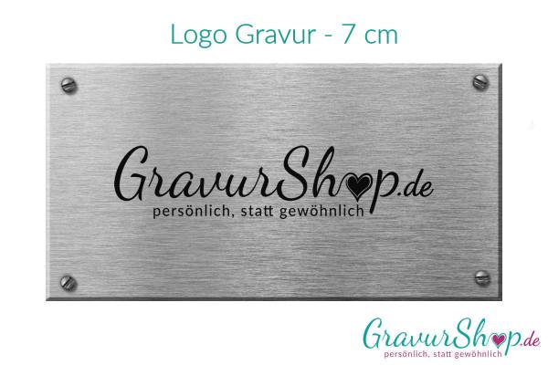 Logo Gravur - 7 cm
