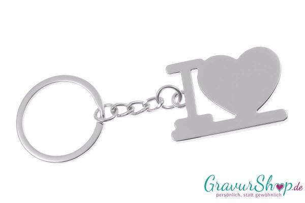 Schlüsselanhänger Nr. 19 mit Gravur