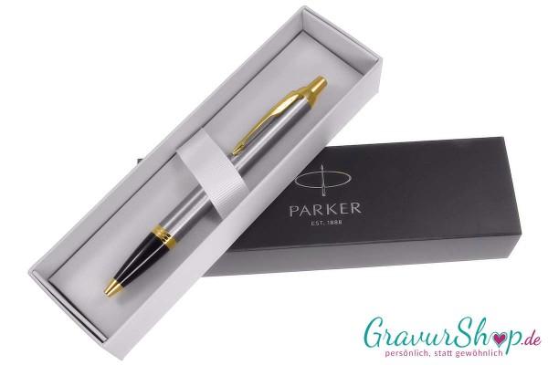 Parker Kugelschreiber brushed metall
