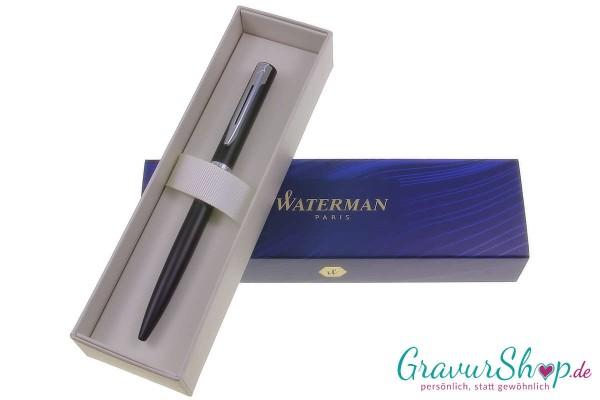 Kugelschreiber 09 Schwarz mit Gravur