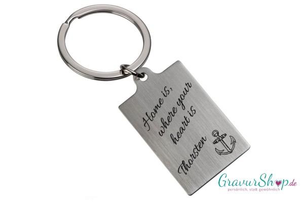 Schlüsselanhänger Nr. 56 mit Gravur