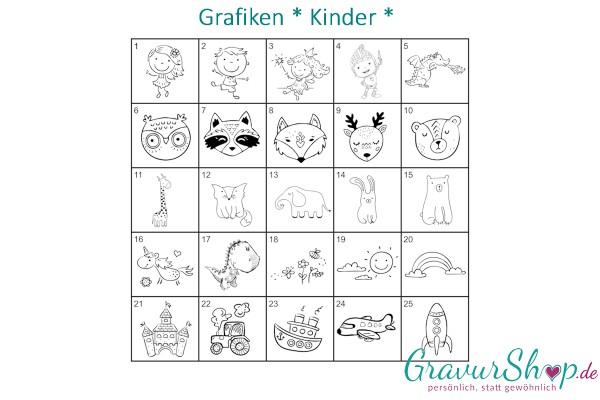 Kinder Grafiken zum gravieren