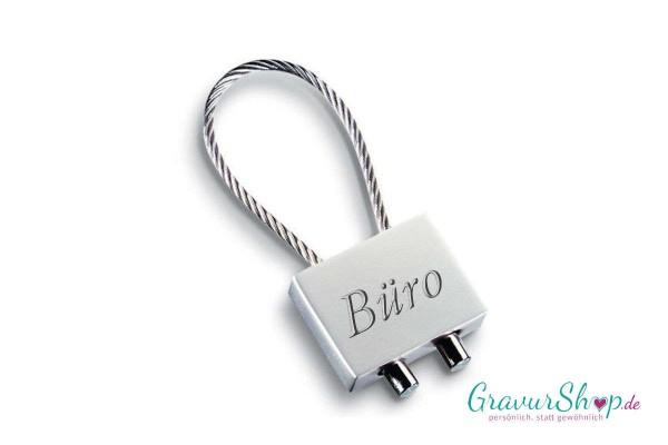 Schlüsselanhänger Nr. 51 A mit Gravur