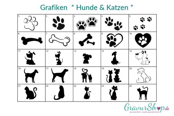 Grafik - Hunde & Katzen