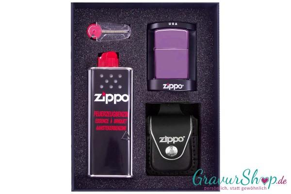 Zippo Set 2 - High Polish Purple