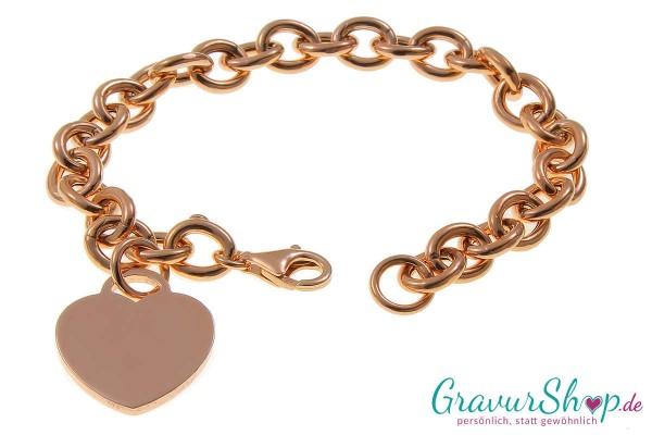 Charmarmband mit Gravur 09