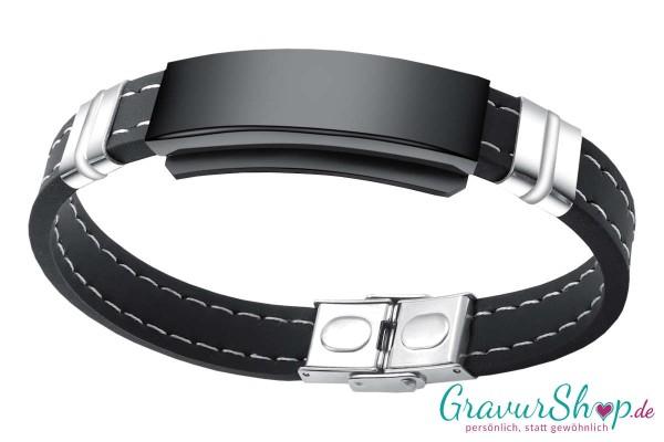 Kautschuk Armband 01 mit Gravur