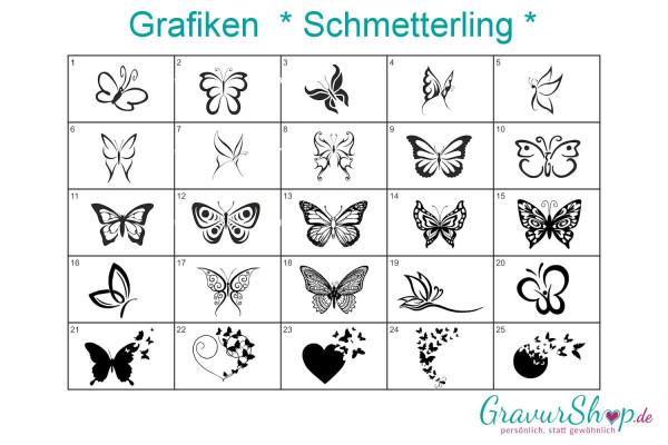Schmetterling Grafiken zum gravieren