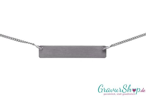 Silberanhänger 09 A mit Gravur