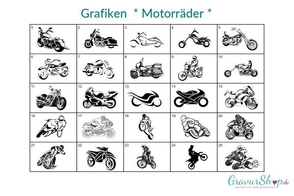Grafik - Motorräder