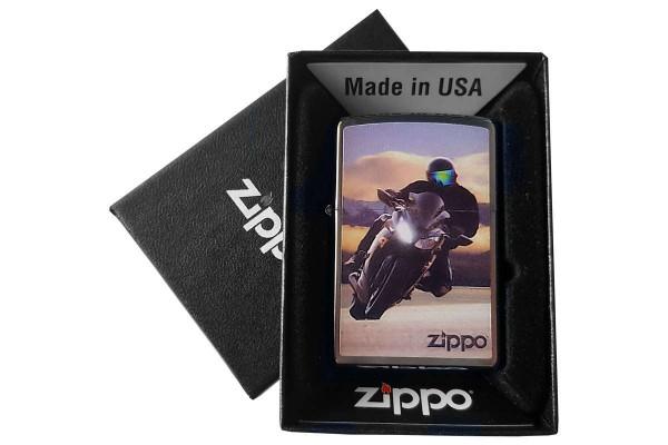 Motor Bike Design Zippo 007