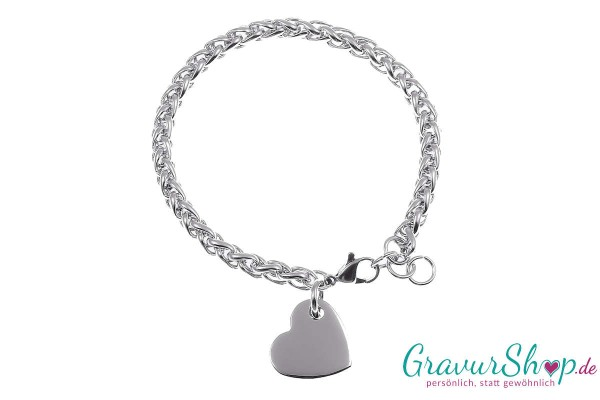 Charm Armband 05 mit Gravur