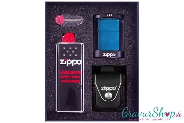 Zippo Set 2 - Cerulan