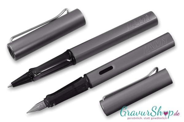LAMY AL star Schreibset Füller-Tintenroller graphite