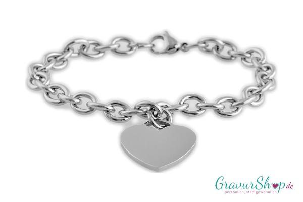 Charmarmband mit Gravur 04