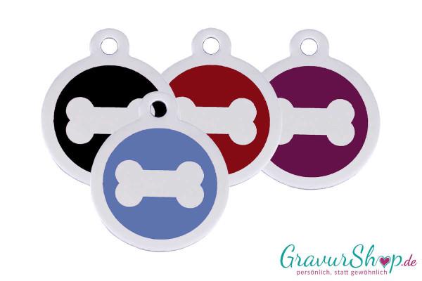 Hundemarke mit Gravur aus Edelstahl