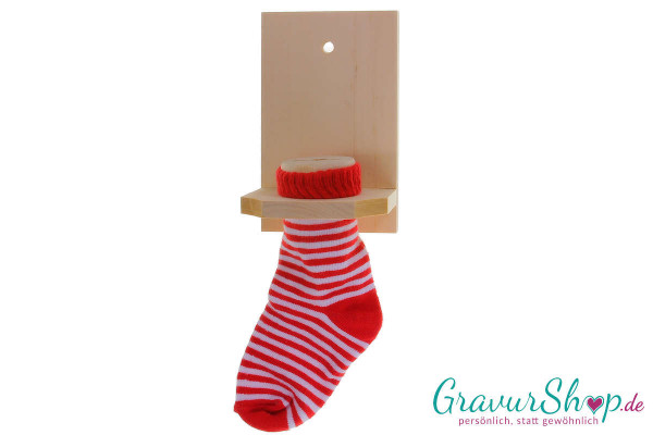 Spar Socke rot