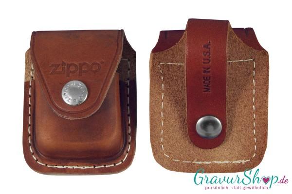 Zippo Tasche Braun mit Lasche