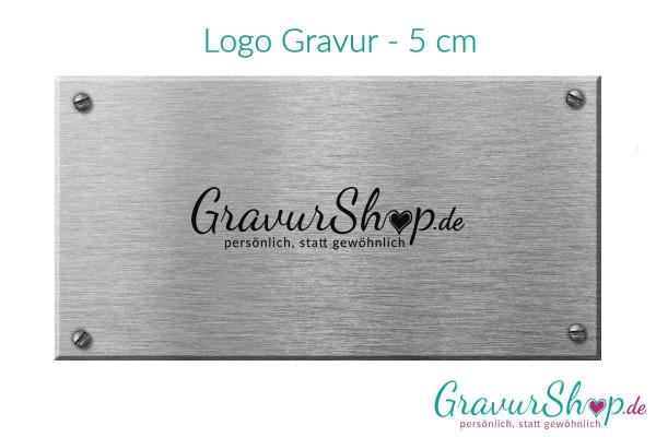 Logo Gravur - 5 cm