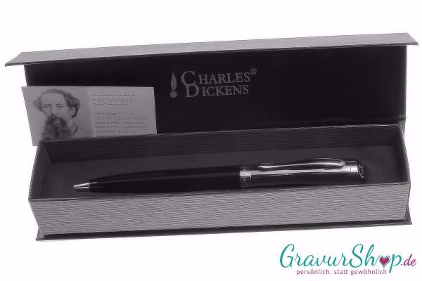 Kugelschreiber 31 Charles Dickens mit Gravur