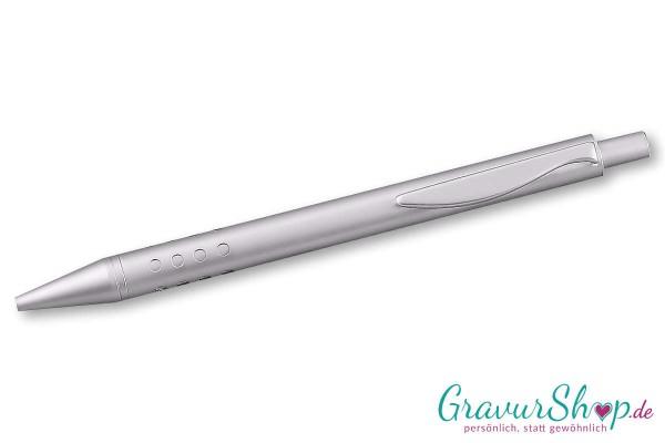 Kugelschreiber 01 mit Gravur - Silber