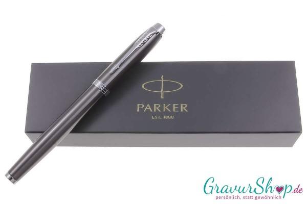 Parker-IM-Füllhalter espresso mit Gravur
