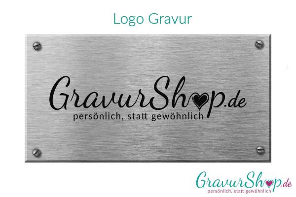 Logo Gravur - 11 cm