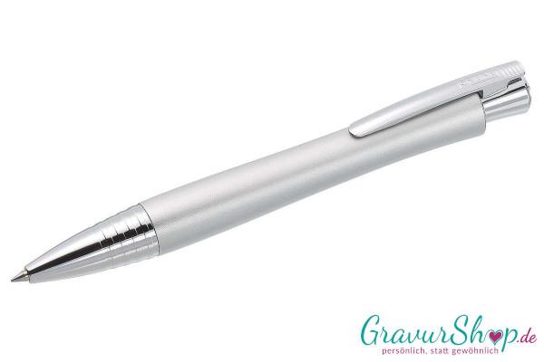 Online Cruiser Tintenroller silver mit Gravur