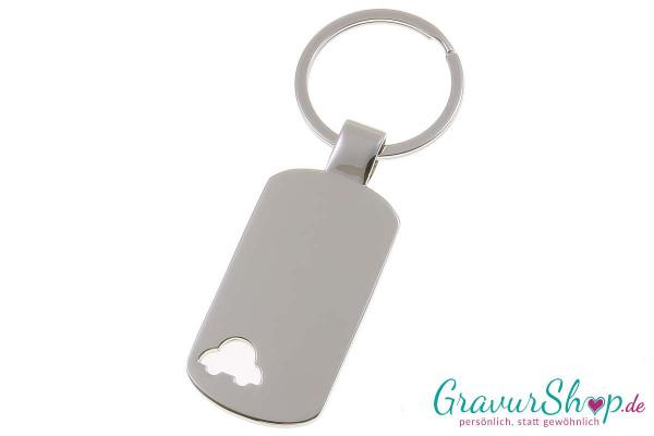 Schlüsselanhänger Nr. 37 mit Gravur