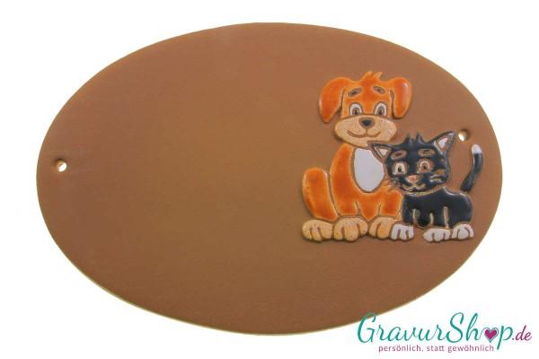 Keramikschild 02 mit Gravur