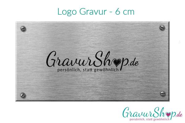 Logo Gravur - 6 cm