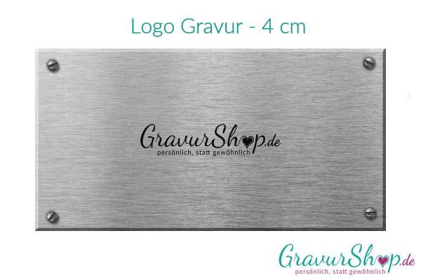 Logo Gravur - 4 cm