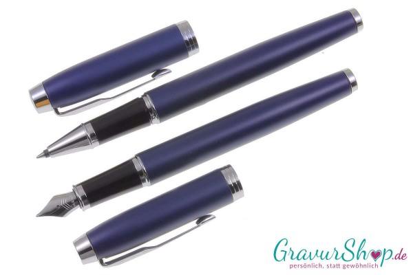 IM Parker Füller-Tintenroller matte blue